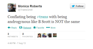 Roberts_andro is not trans