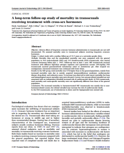 A long-term follow-up study of mortality in transsexuals_HORMONES