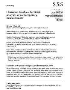 Matusall_Hormone Troubles